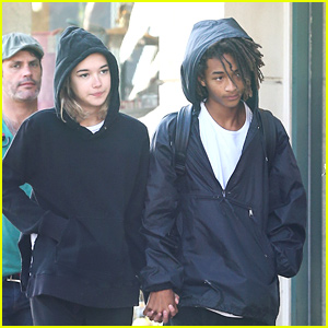 Jaden Smith Holds Hands With a Mystery Girl!