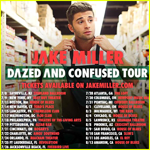 Win FREE Tickets To Jake Miller's 'Dazed and Confused' Tour - Find Out How Here!