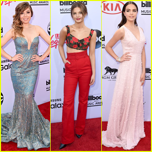 Jennette McCurdy & Stefanie Scott Hit Up BBMAs 2015 With Bailee Madison