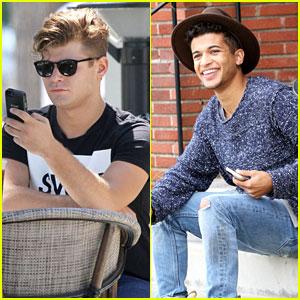 Jordan Fisher & Garrett Clayton: New 'Teen Beach 2' Promo Is Out!
