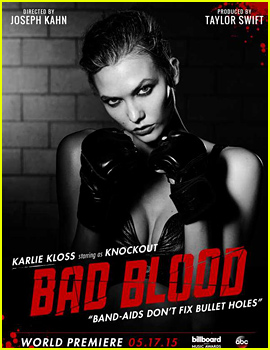 Karlie Kloss Joins Taylor Swift's Star Studded 'Bad Blood' Video