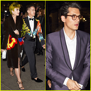 Katy Perry Meets Up with John Mayer at Met Gala 2015 After Party!