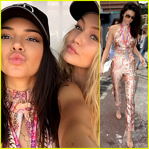 Kendall Jenner Gathered the Ultimate Girls Group in Monaco with Gigi Hadid!