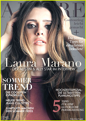 laura marano talks about upcoming music with ajoure mag