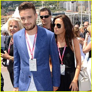Liam Payne & His Girlfriend Sophia Smith Hold Hands at the Grand Prix!