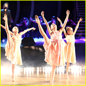 Maddie Ziegler Performs On 'DWTS' With Josh Groban - Watch Here!