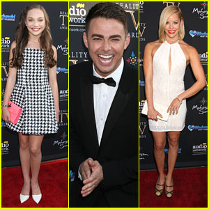 Maddie Ziegler Steps Out For Reality TV Awards With Jonathan Bennett