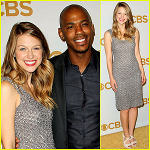Supergirl's Melissa Benoist Makes Her CBS Debut for Upfront Week!