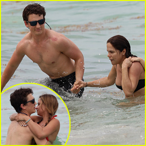 Miles Teller Reportedly Helps a Pregnant Woman In the Ocean!