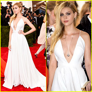 Nicola Peltz Slays in White at Met Gala 2015