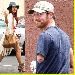 Sharna Burgess & Noah Galloway Get Started on DWTS Semi-Finals Practice