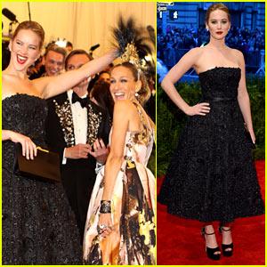 Here Is Jennifer Lawrence's Last Met Gala Look!
