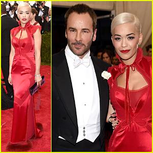 Rita Ora Makes Tom Ford Proud at Met Gala 2015