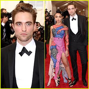 Robert Pattinson & FKA twigs Make First Public Red Carpet Appearance at Met Gala 2015