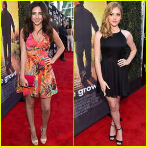 Ryan Newman & McKaley Miller Are Pretty Girls at 'Where Hope Grows' Premiere