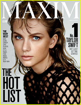 Taylor Swift Covers 'Maxim,' Tops the Hot List!
