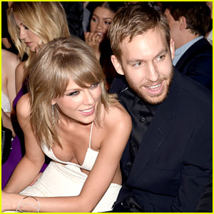 Taylor Swift Kisses Calvin Harris After Winning at BBMAs! (Video)