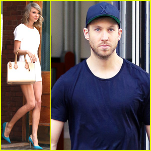 Taylor Swift & Calvin Harris Spend Time Apart After NYC Date Night