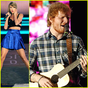 Taylor Swift & Ed Sheeran Perform 'Tenerife Sea' At Rock in Rio USA - Watch Now!