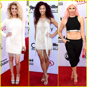 Tori Kelly & Natalie La Rose Hit Up the BBMAs 2015!