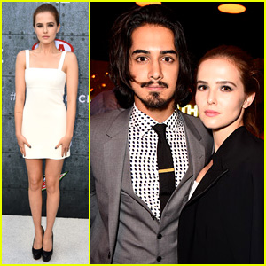 Avan Jogia Brings Girlfriend Zoey Deutch to Spike TV's Guy Choice Awards 2015