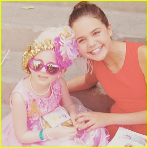 Bailee Madison Writes Emotional & Uplifting Message After Brooke Blossoms Passes Away