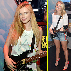 Bella Thorne & Emily Osment Are Guitar Hero Fans at E3
