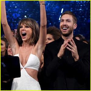 Taylor Swift Gets Praises from Boyfriend Calvin Harris After Apple Music News