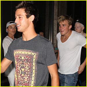 Cameron Dallas & Jake Paul Go Shirtless in New Vine - Watch The Video!