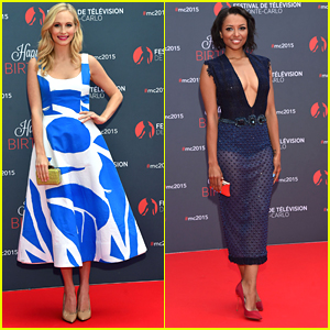 Candice Accola & Kat Graham Stun & Celebrate At The Monte Carlo TV Festival 2015