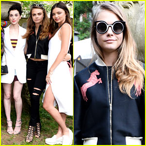 Cara Delevingne Plays Fun Game with 'Paper Towns' Co-Star Nat Wolff (Video)