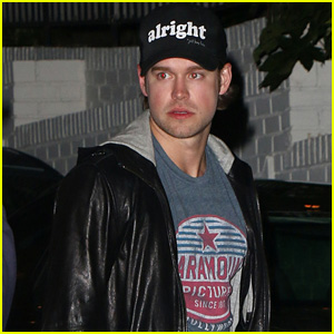 Chord Overstreet Steps Out After Performing With Mike Posner