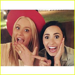Demi Lovato Witnessed Iggy Azalea Getting Engaged!