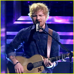 Ed Sheeran Does Heavy Metal Covers for Funny 'Fallon' Sketch! (Video)