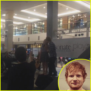 Ed Sheeran Surprises Fan Singing His Song in The Mall - Watch Now!