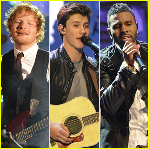Ed Sheeran, Shawn Mendes, & Jason Derulo Perform Their Hits at MuchMusic Video Awards 2015 - Watch Here!