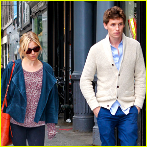 Eddie Redmayne Hangs Out with Sienna Miller After 'Fantastic Beasts' Casting News!