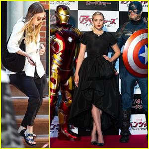 Elizabeth Olsen Rocks Dior at 'Avengers: Age of Ultron' Japan Premiere!