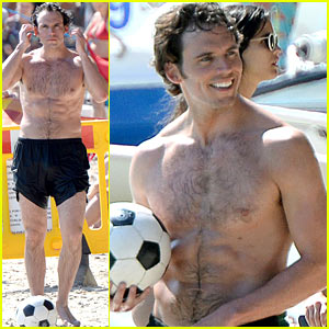 Sam Claflin Is the Hottest Shirtless Soccer Player!