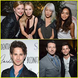 Emily VanCamp & 'Revenge' Cast Live It Up at Le Jardin Grand Opening!