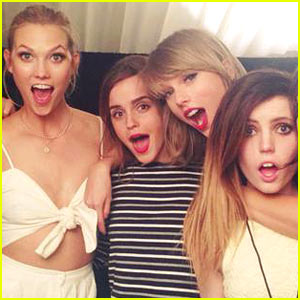 Emma Watson Joins Fellow Beauties at Taylor Swift's London Concert!