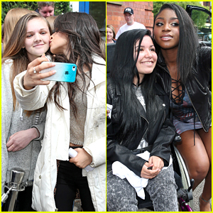 Fifth Harmony Spread The Love To Fans At Capital Radio in Leeds
