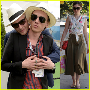 Jamie Campbell Bower Is Getting a Visit From His 'Better Half' Lily Collins!