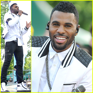 Jason Derulo Performs 'Want To Want Me' On Good Morning America - Watch Here!