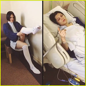 Jessie J Posts Video from Her Hospital Bed
