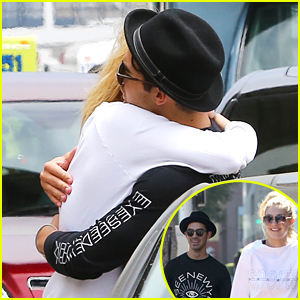 Joe Jonas Drops Gigi Hadid Off At The Airport & Gets A Hug