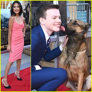 Hayden Byerly Hits Up 'Max' Movie Premiere With Stars Josh Wiggins & Mia Xitlali