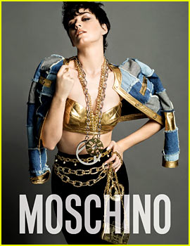 Katy Perry Is Moschino's New Face!