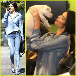 Kendall Jenner May Have Just Adopted the Most Adorable Dog Ever