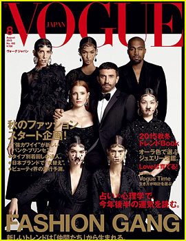 Kendall Jenner Is Part of Vogue Japan's Fashion Gang!